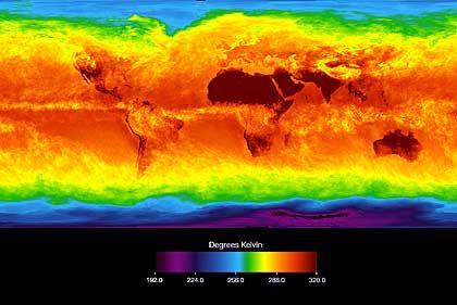 Temperaturmessung per Satellit: Rückkopplung verstärkt globale Erwärmung