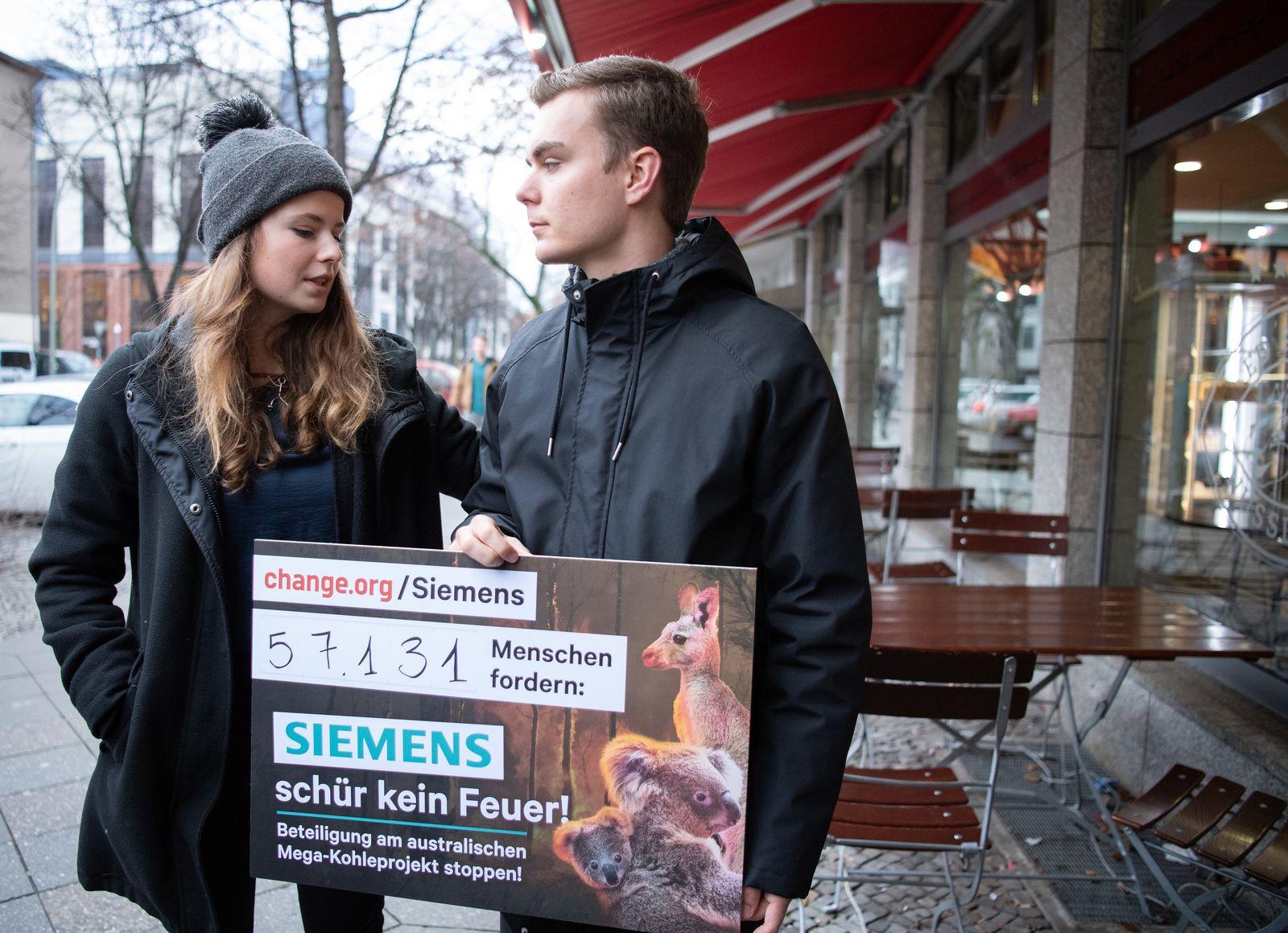 Fridays for Future bei Siemens