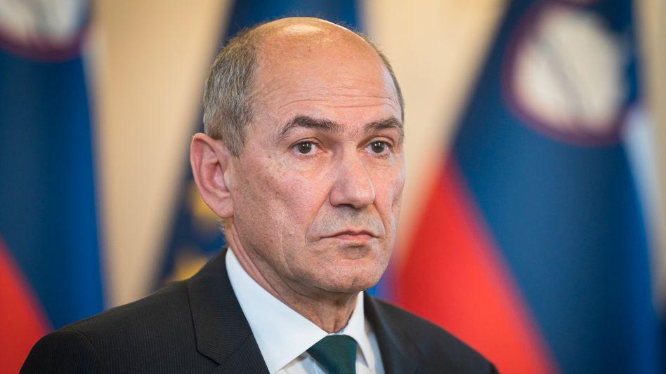 Sloweniens Ministerpräsident Janez Janša: »Demokratieverachtende Rhetorik und Politik«