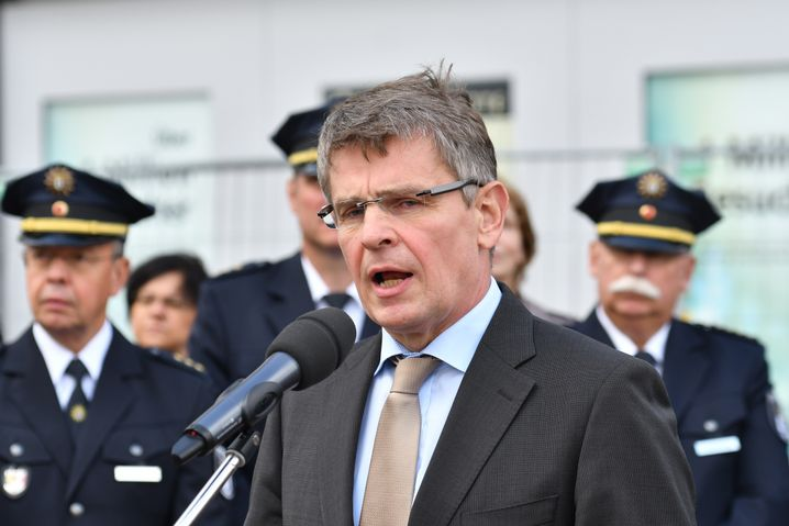 Berliner Polizeipräsident Klaus Kandt
