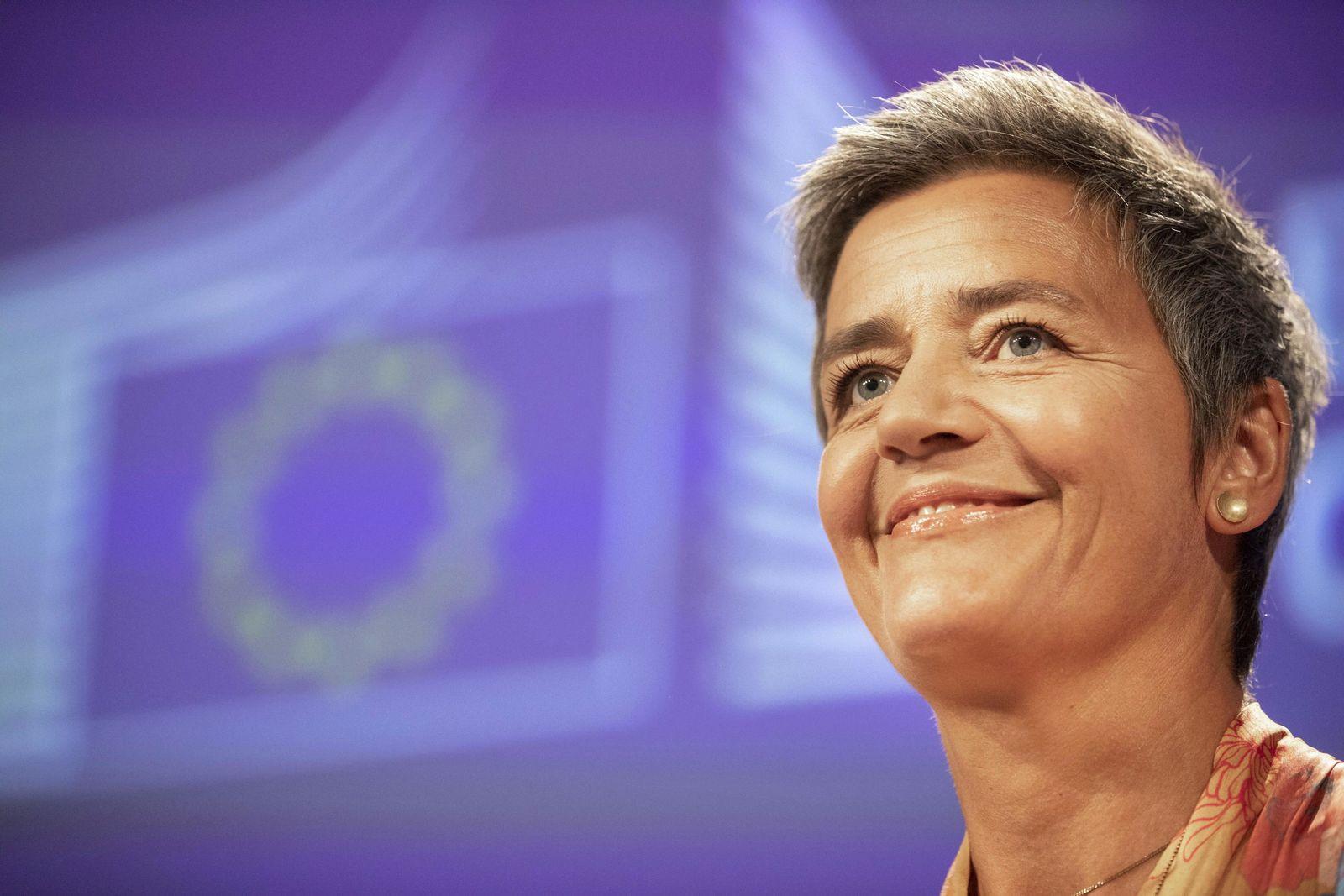 Margrethe Vestager/ Google/ Kartell
