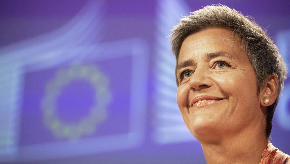 Margrethe Vestager, EU-Wettbewerbskommissarin
