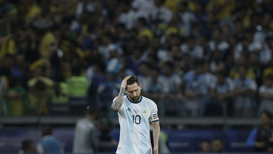 Lionel Messi: Warten auf den ersten Titel