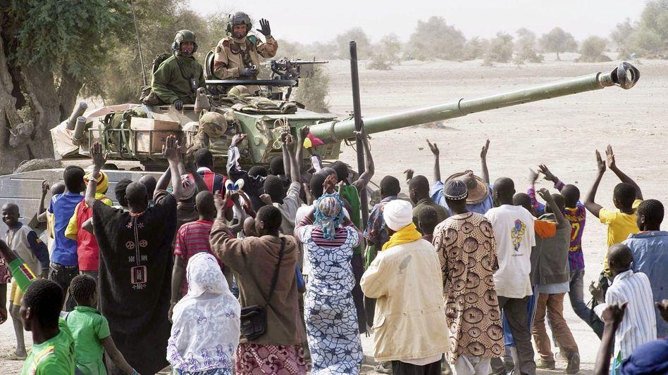 Französische Soldaten beim Einsatz in Mali Zu spät reagiert