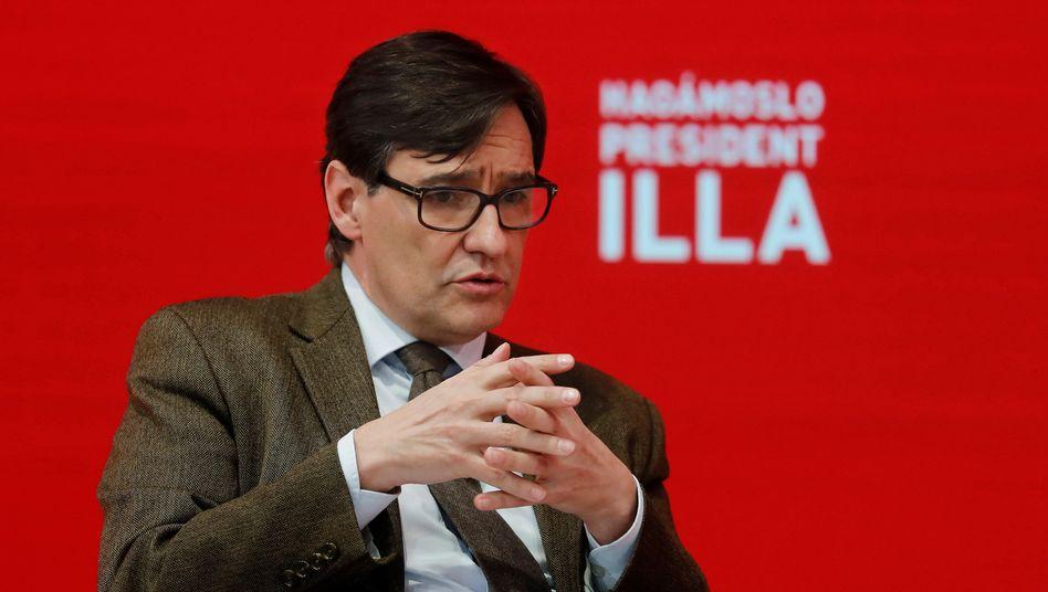Salvador Illa: »Ich bete auf Katalanisch, ich fluche auf Katalanisch. Aber mit meiner Frau spreche ich Spanisch«