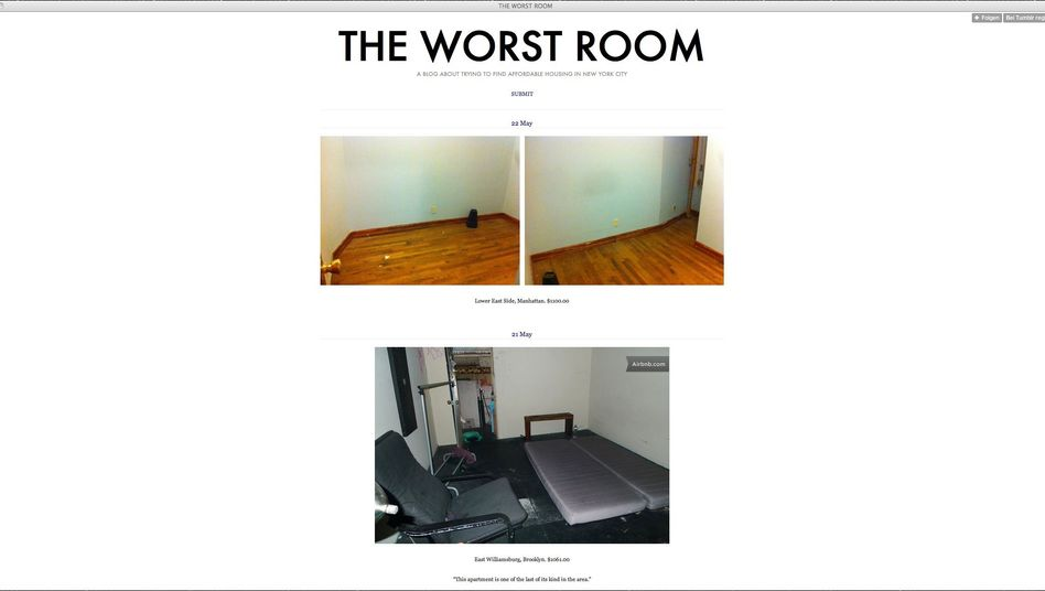 Tumblr-Blog The Worst Room: So hässlich können teure Wohnungen sein
