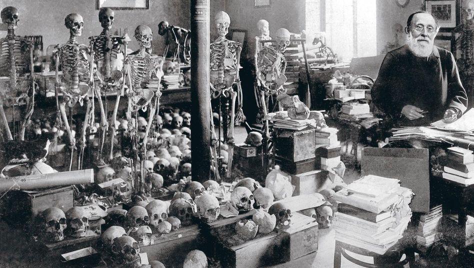 Museumsgründer Virchow 1896
