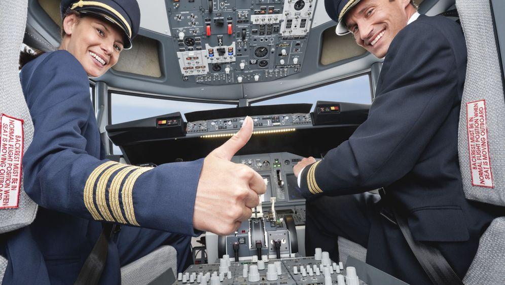 """Sprüche aus dem Flugzeug-Cockpit: """"Fertig machen zum Shoppen!"""""""