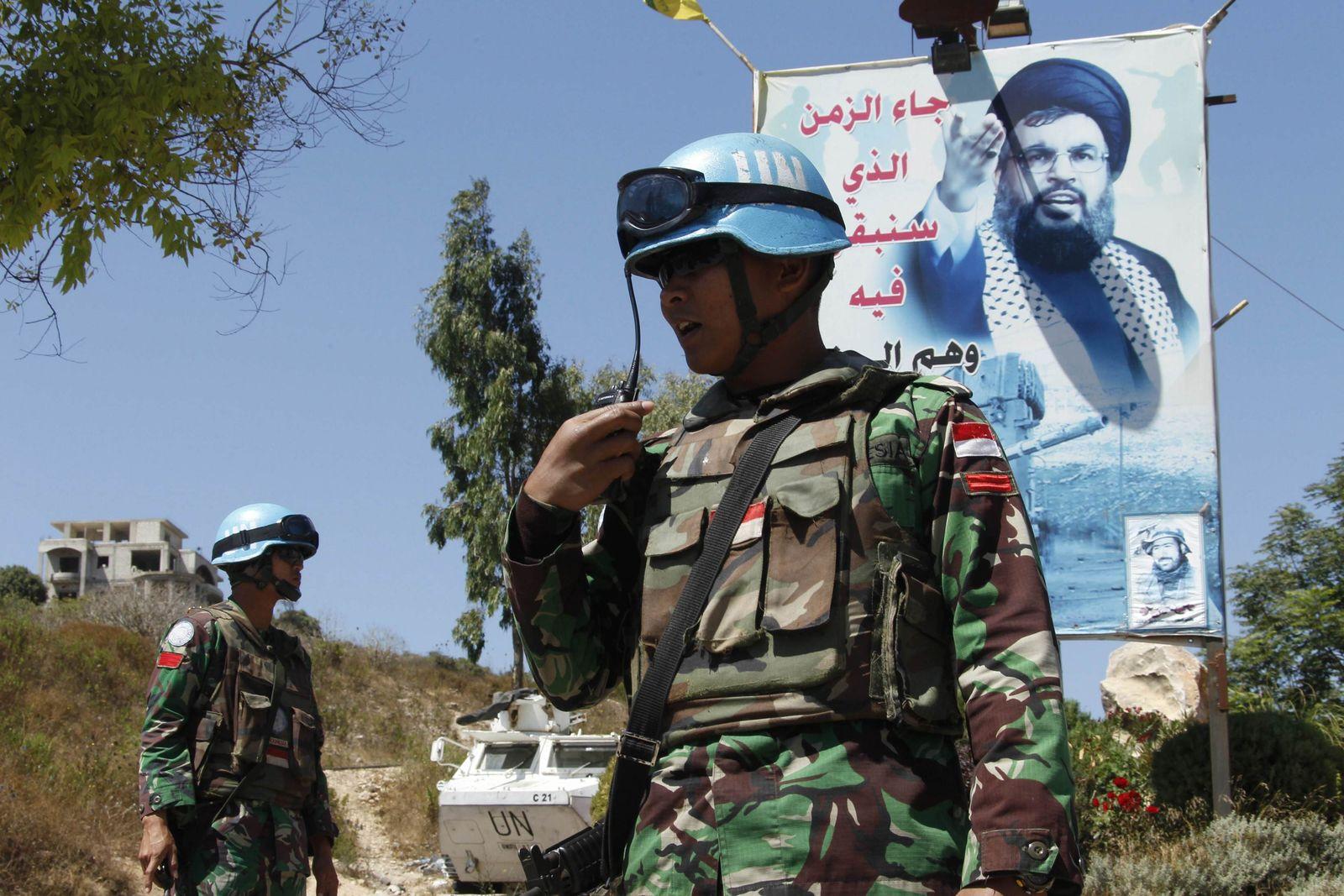 Libanon / UN-Soldaten