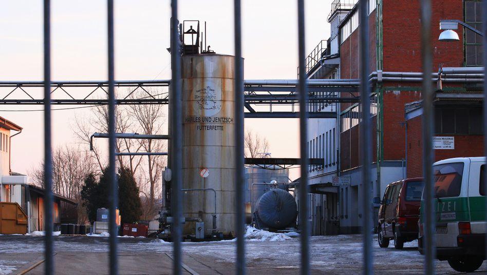 Firmengelände von Harles und Jentzsch: Ausmaß unüberschaubar