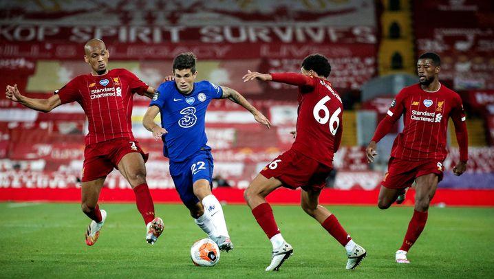 Feuerwerk und Feierei für Liverpools Meister
