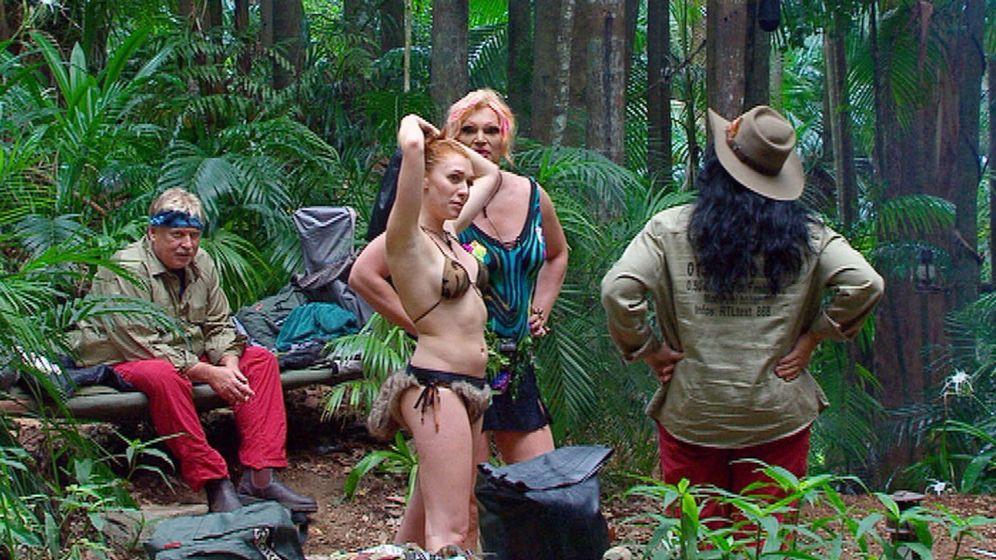 Dschungelcamp Tag 4: Von bepelzten Tieren und nackten Tatsachen