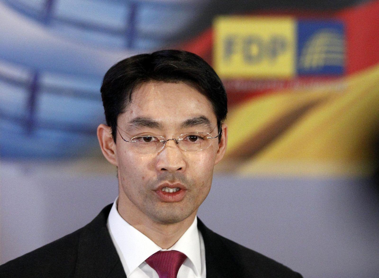 Rösler FDP press conference