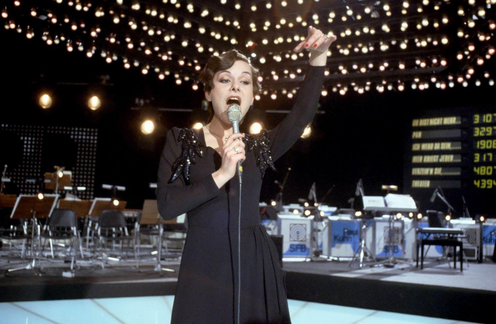 Marianne Rosenberg, Auftritt, 01.01.1980, singen, Bühne, Sängeri