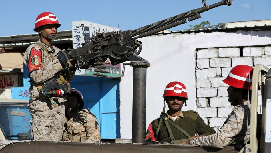 Regierungstruppen im Jemen (am 30. Dezember): Krieg gegen schiitische Huthi-Rebellen