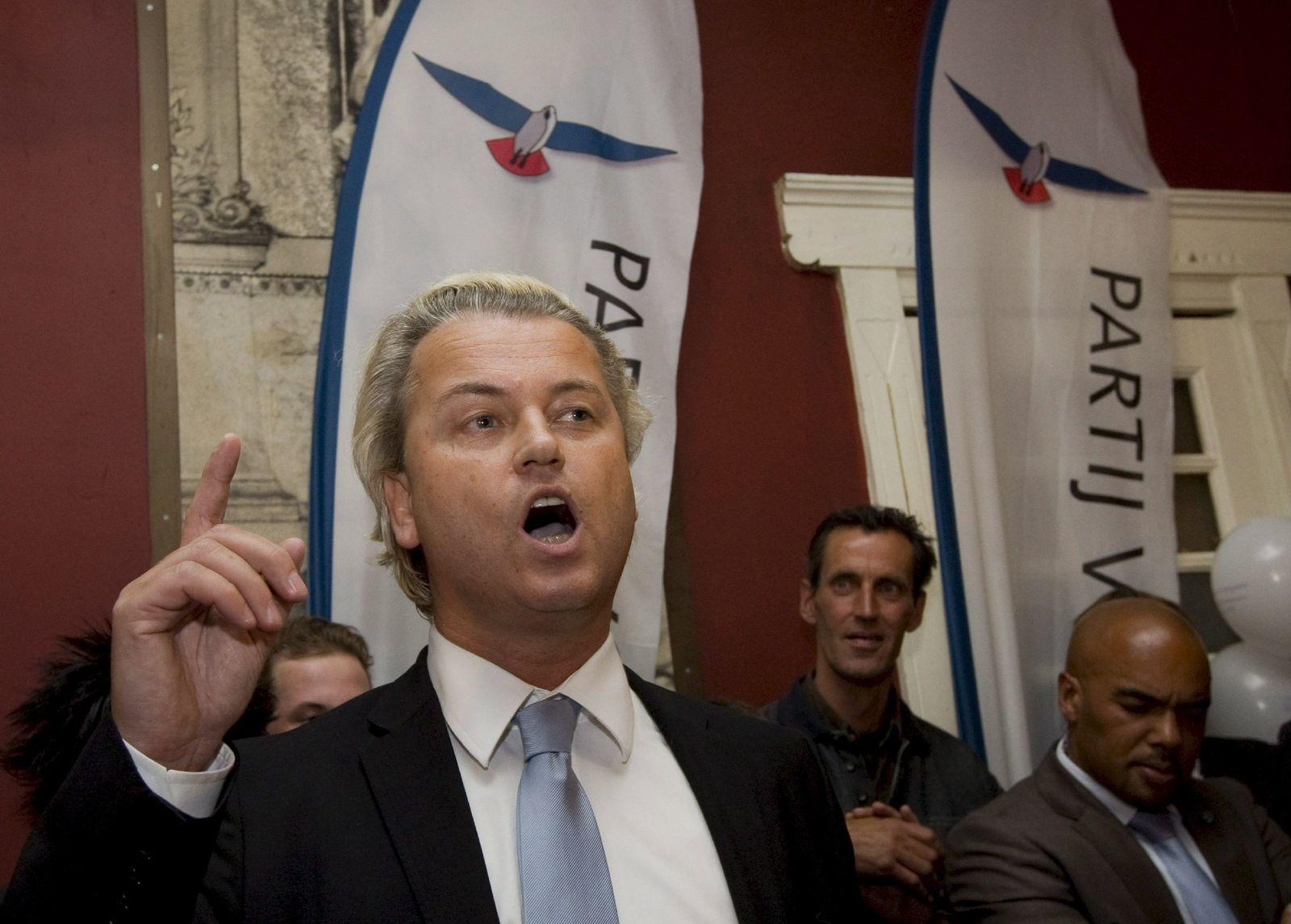 Rechtspopulist Wilders feiert «Durchbruch» bei Europawahl