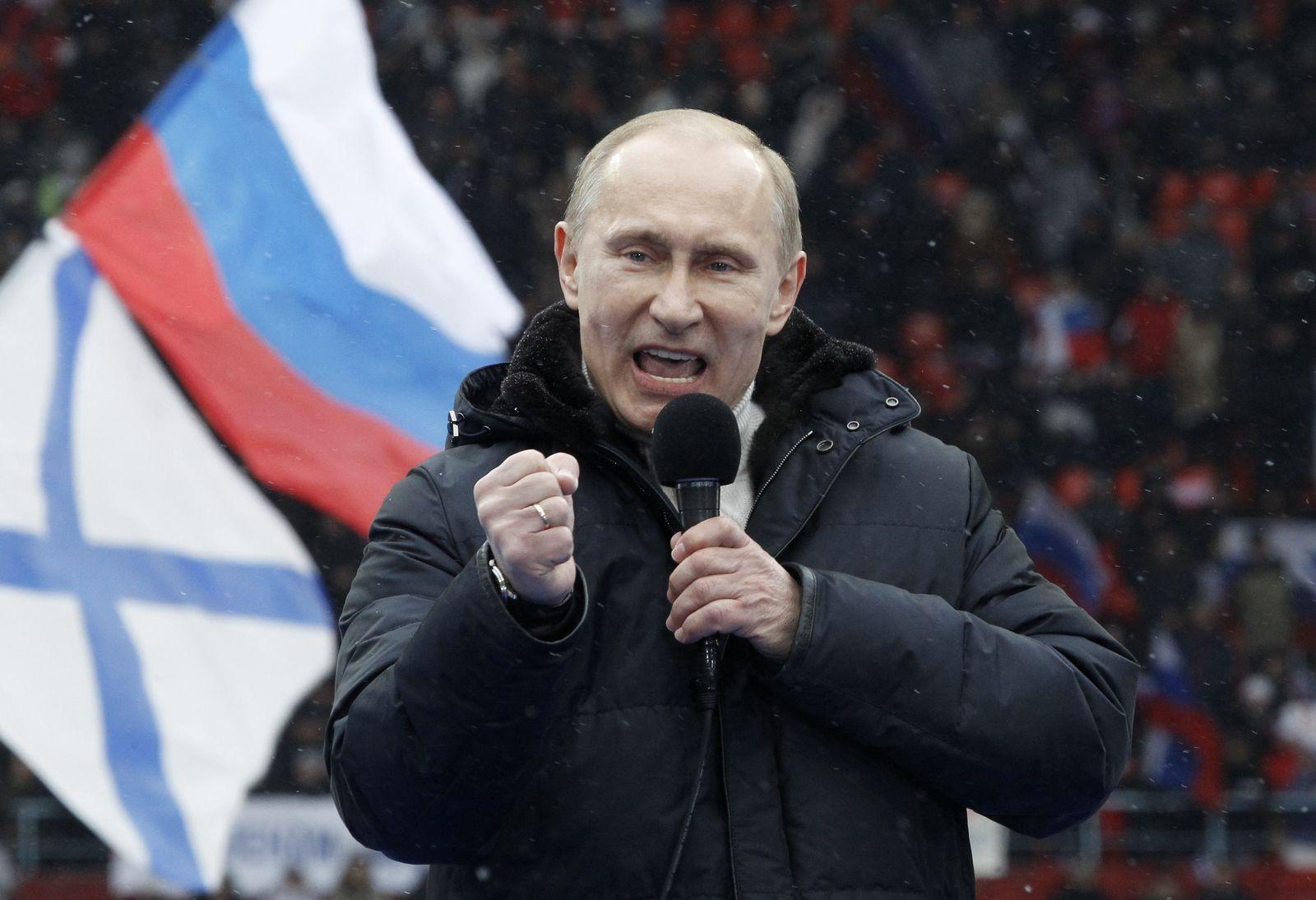 Putin / Wahlkampf