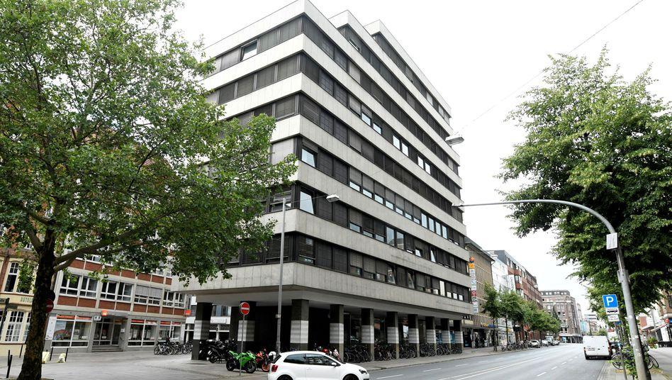Gebäude der Greensill Bank in Bremen