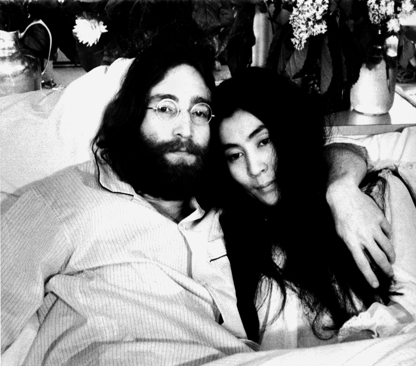 Tageskarte/ 14.12.12 / John Lennon und Yoko Ono
