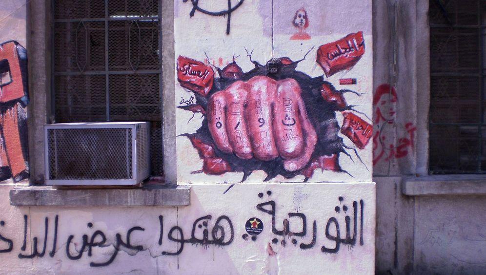 Graffitis in Ägypten: Wenn die Toten von den Wänden sprechen