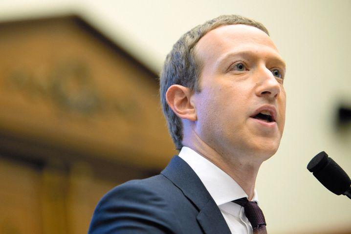 Zuckerberg bei einer Anhörung 2019: Die Techwelt schaute zu