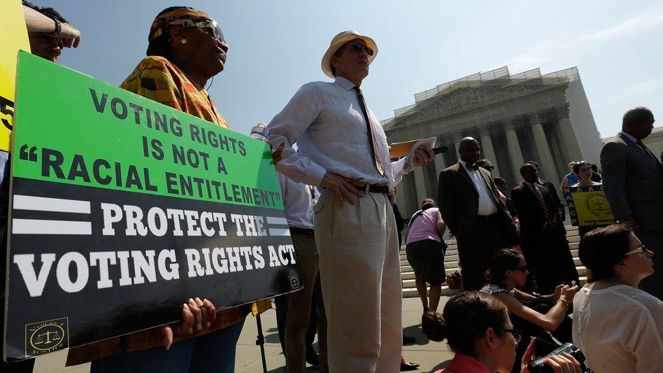 Bürgerrechtler vor dem Supreme Court: Kritik am Urteil der Richter