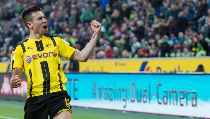 Bundesliga: Nummer 10 für Stindl, Nummer 27 für Aubameyang