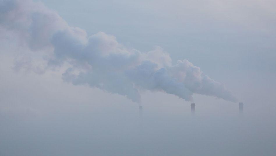 Emissionen (hier: Minsk, Weißrussland)