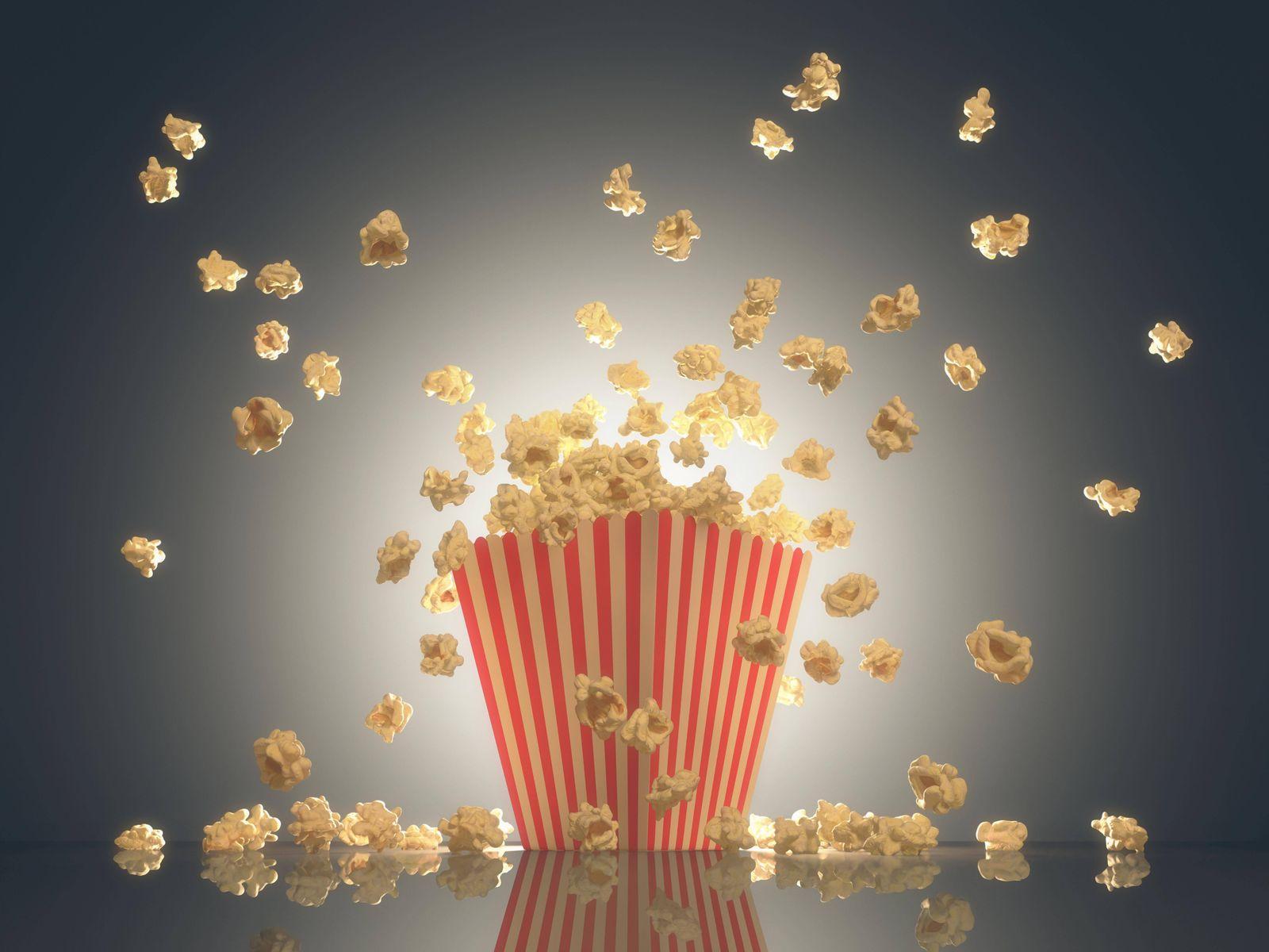Popcorn Show Time PUBLICATIONxINxGERxSUIxAUTxONLY Copyright xktsdesignx Panthermedia17889768