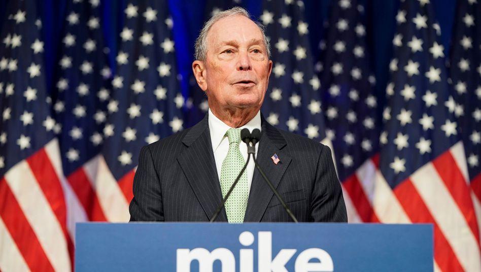 Michael Bloomberg: Keine investigativen Recherchen gegen den Mogul