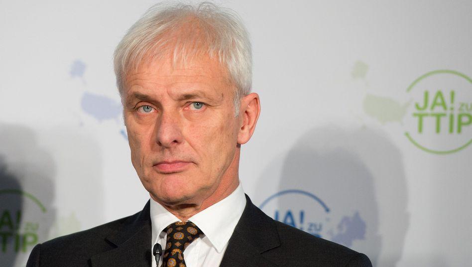 "Porsche-Chef Matthias Müller: ""Durch nichts zu rechtfertigen"""