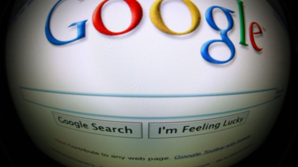 Google-Website: Verleger haben Beschwerde eingereicht