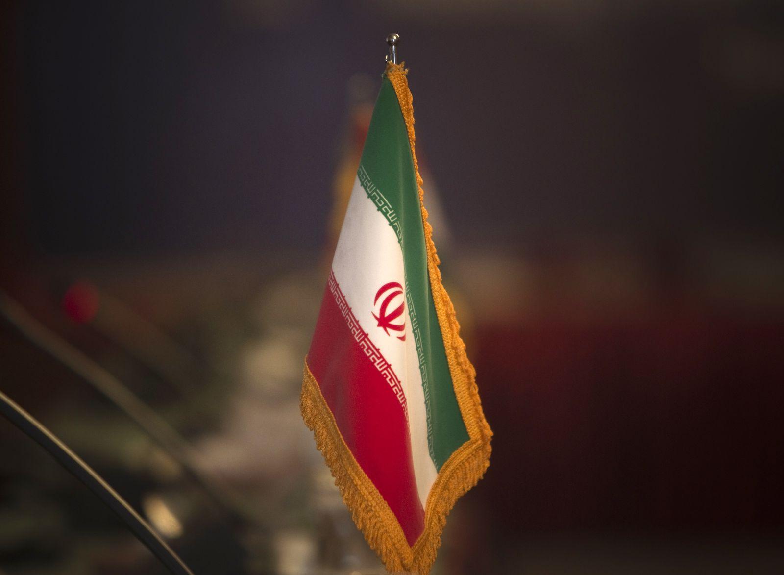 Iran/ Flagge/ Außenministerium