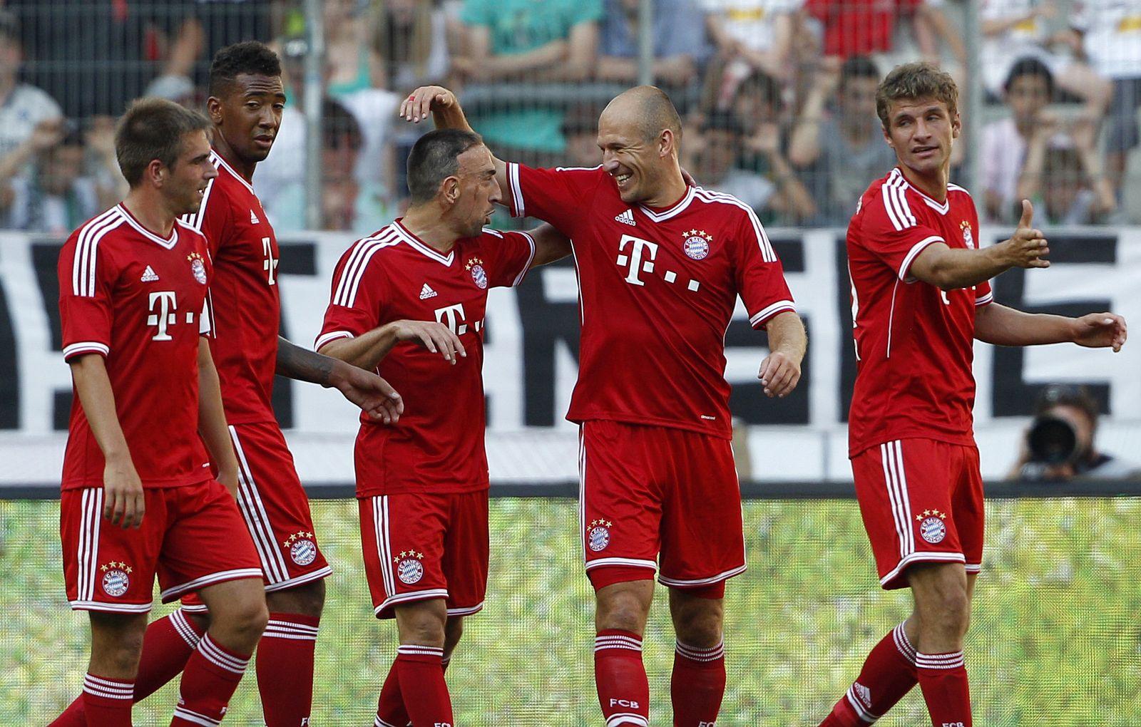 Bayern jubeln