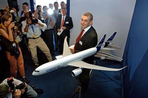 """Airbus Chairman Christian Streiff: """"I don't have time to go into the details."""""""