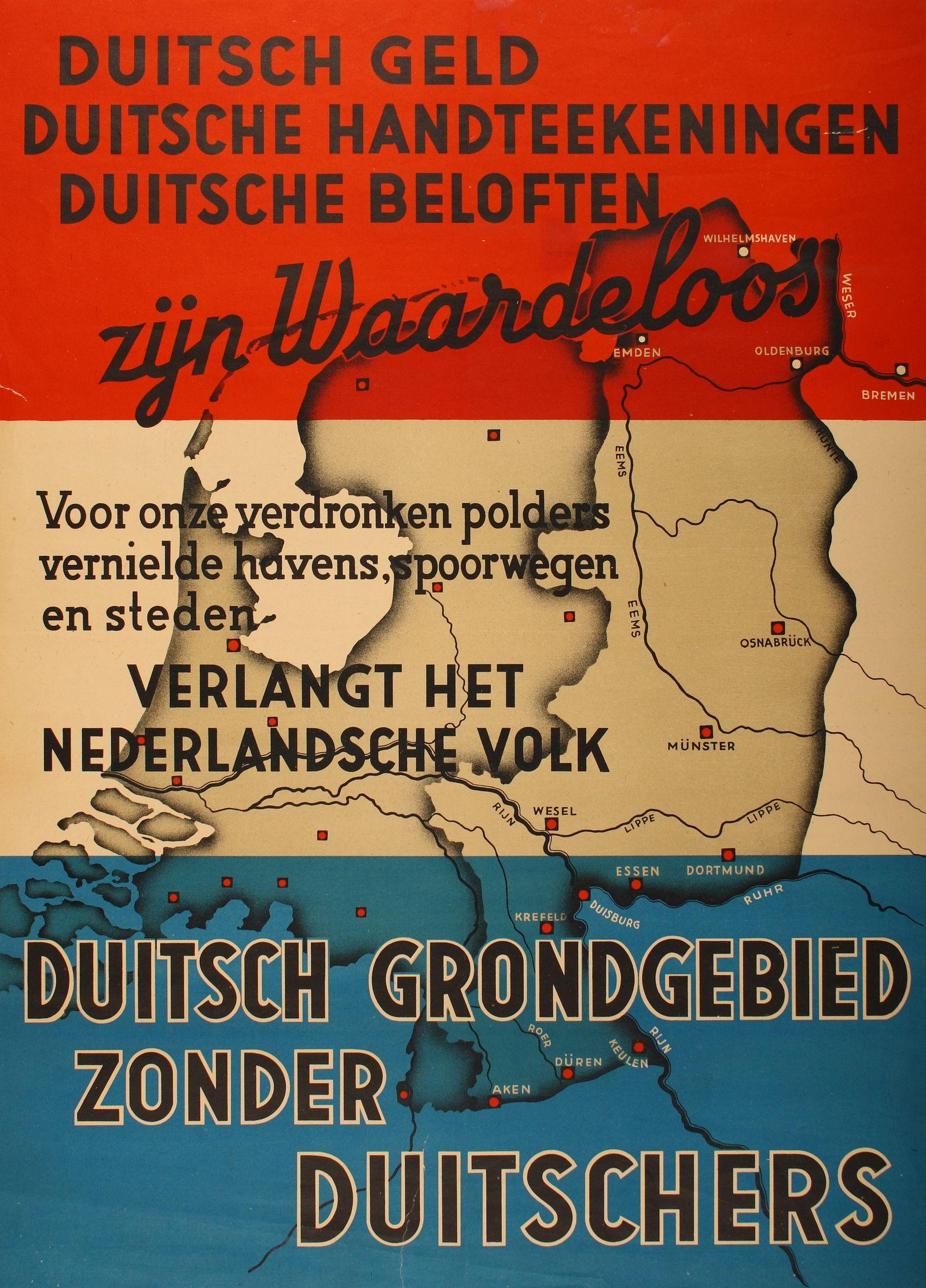 Ein Poster der Niederlande