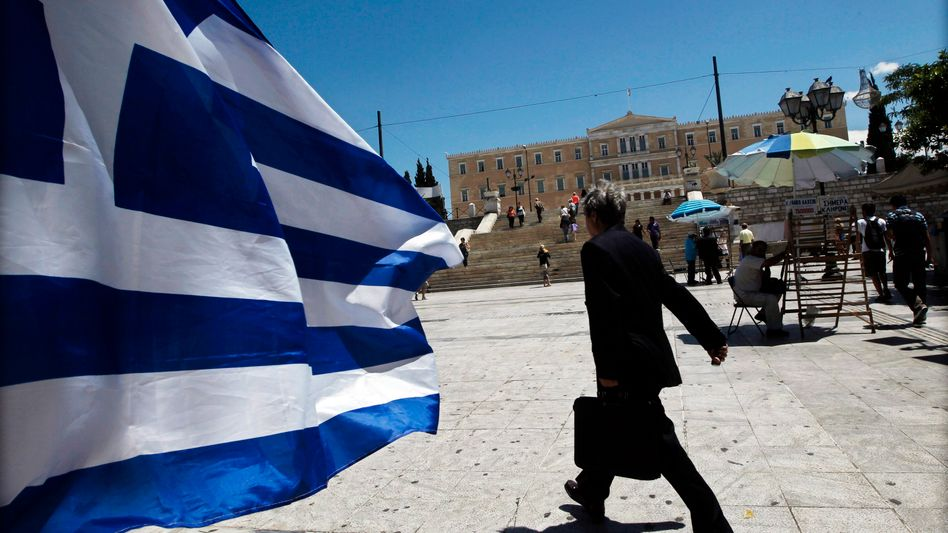 The parliament building in Athens: Greeks must go to the polls once again.