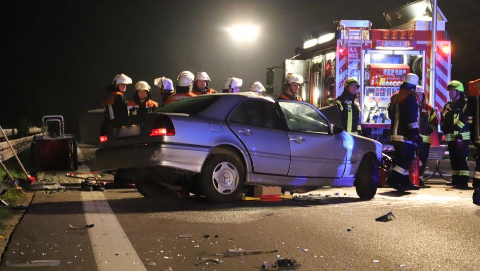 Unfall bei Illertissen in Bayern