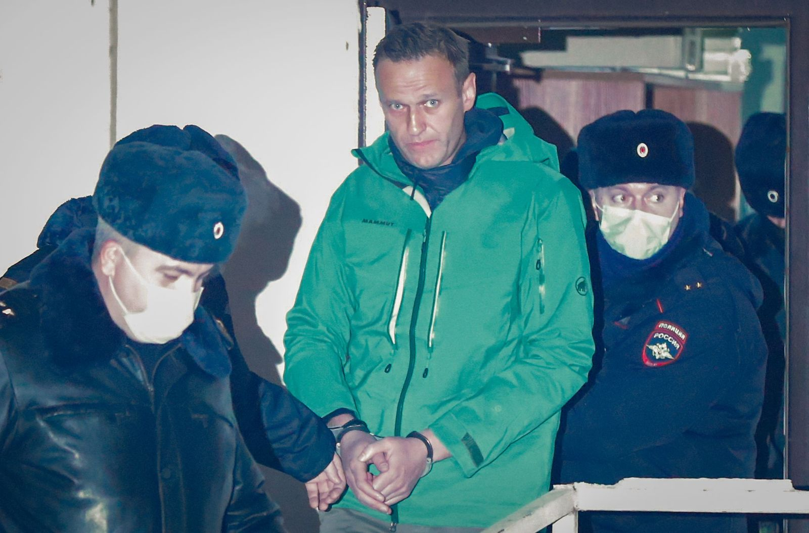 Russian opposition leader Alexei Navalny arrested, Moscow, Russian Federation - 18 Jan 2021