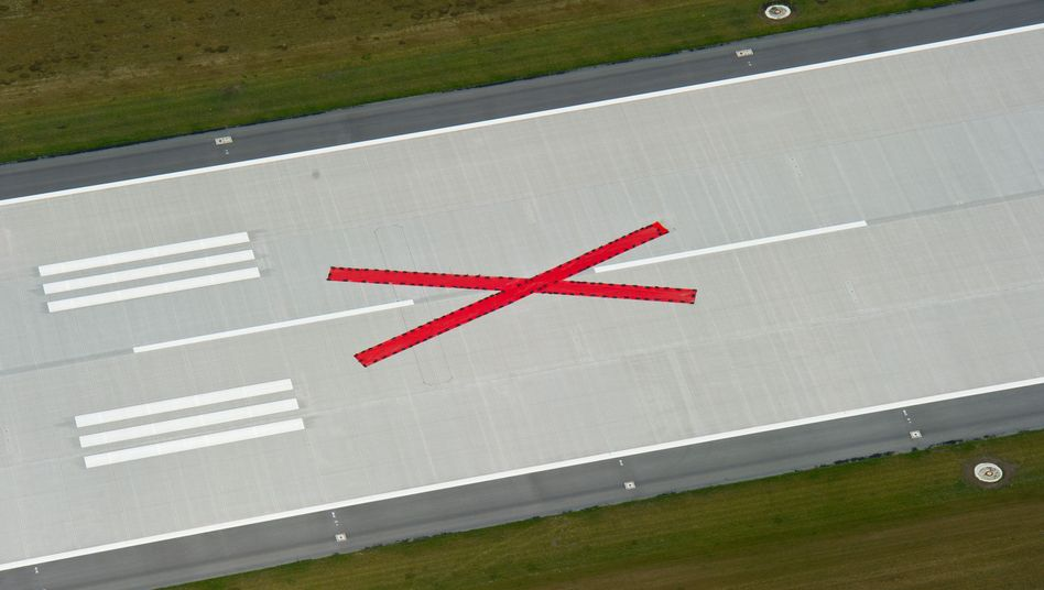 A runway at the new BER airport. The start date has been pushed back once again.