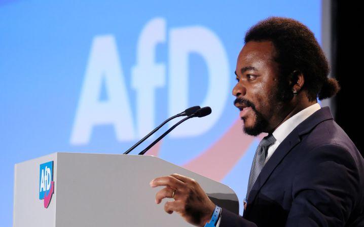 AfD-Politiker Achille Demagbo in Magdeburg