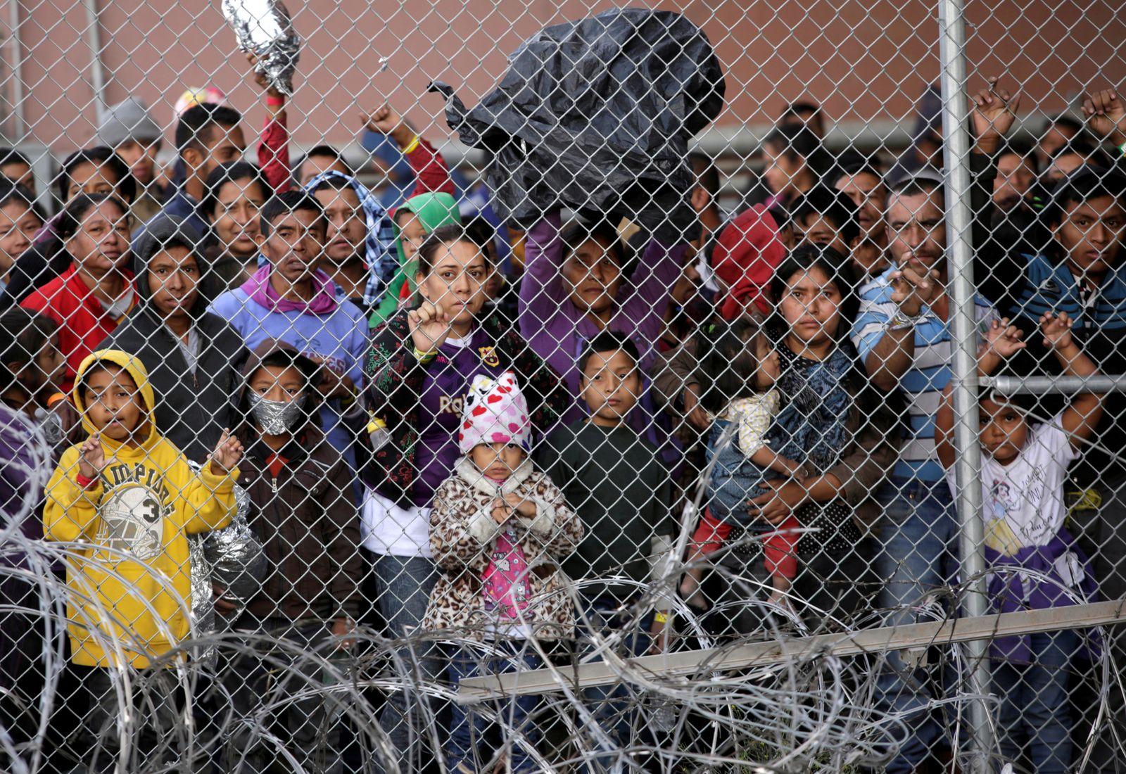 USA/ Mexiko/ Flüchtlinge