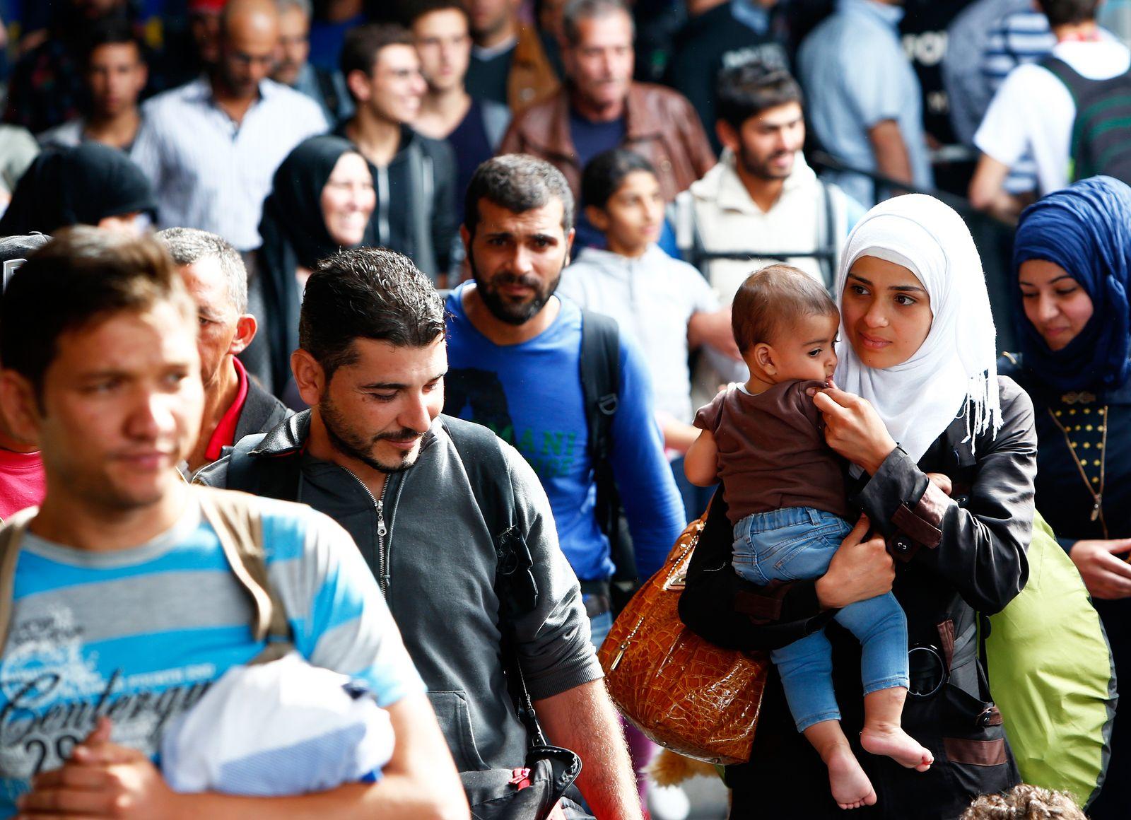 Flüchtlinge München