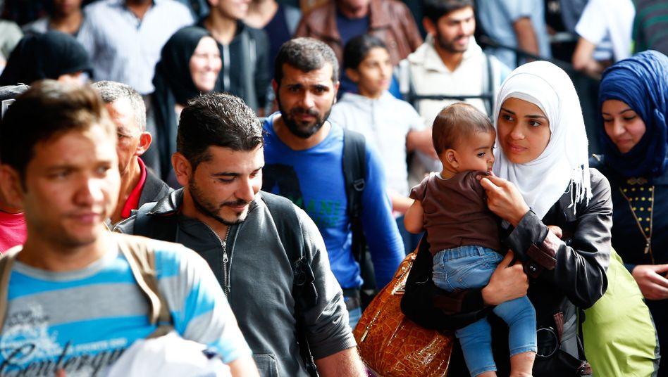 Ankunft von Flüchtlingen in München im September: Wie können wir die Leute erreichen?