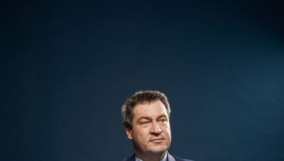 """CSU-Politiker Söder: """"Die AfD ist durch Entscheidungen in Berlin entstanden"""""""