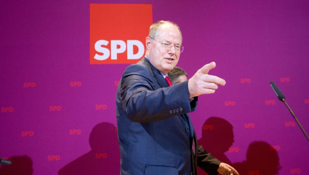 Landtagswahl in Niedersachsen: Steinbrück kann aufatmen