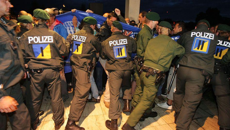 """Polizeieinsatz gegen """"Stuttgart 21""""-Gegner: Ausgedünnte Personaldecke"""