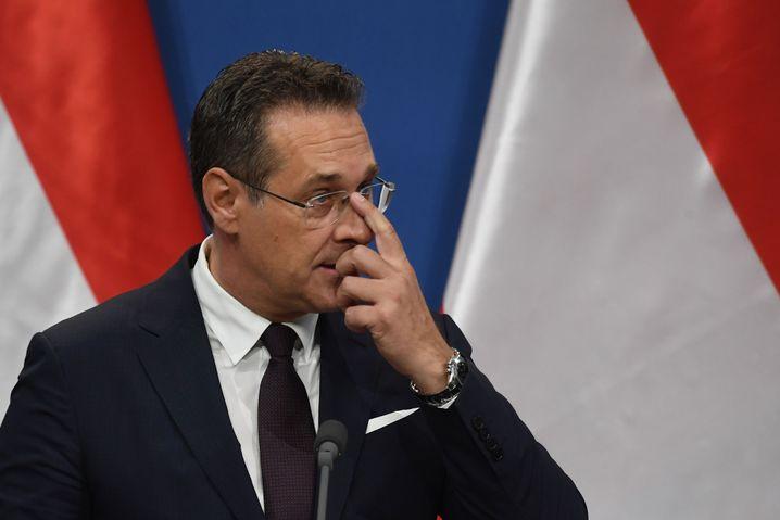 Heinz-Christian Strache: Nach Enthüllungsvideo unter Druck