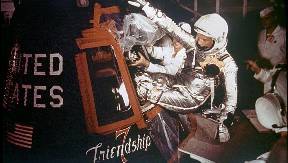 US-Weltraumpionier John Glenn: Das Idol, das aus der Kapsel kam