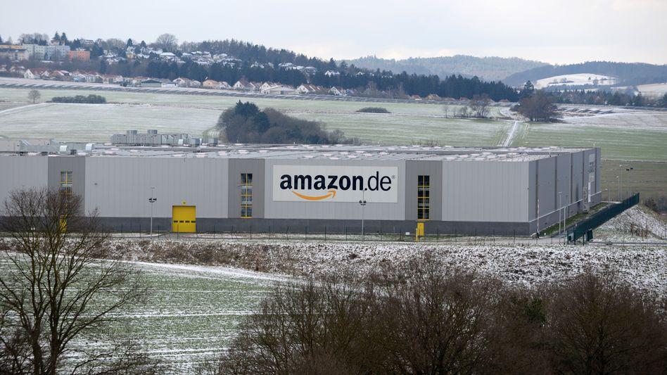 Amazon-Verteilzentrum in Bad Hersfeld: Nadelstiche im Weihnachtsgeschäft